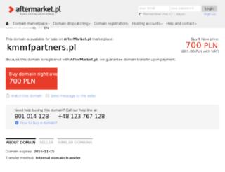 kmmfpartners.pl screenshot