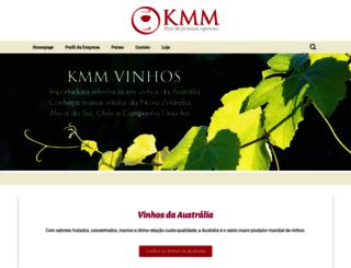 kmmvinhos.com.br screenshot