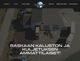 kmrahti.fi screenshot