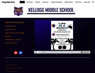 kms.kelloggschools.org screenshot