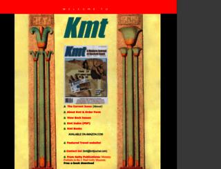 kmtjournal.com screenshot