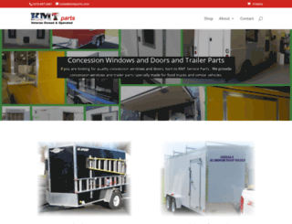 kmtparts.com screenshot