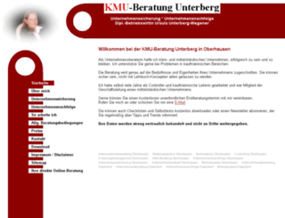kmu-unterberg.de screenshot
