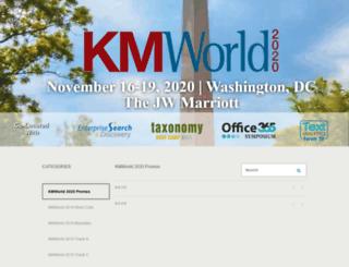 kmworld.brightcovegallery.com screenshot