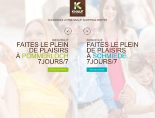 knauf-center.lu screenshot