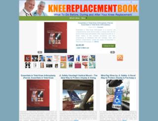 kneereplacementbook.com screenshot