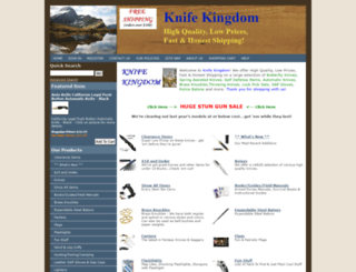 knife-kingdom.com screenshot