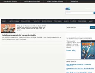 knifeforums.com screenshot