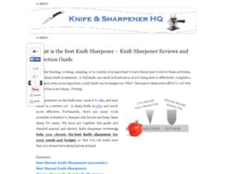 knifesharpenerhq.net screenshot