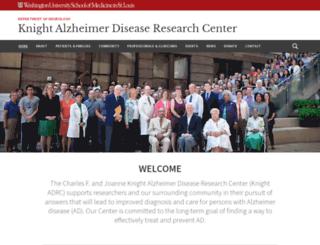 knightadrc.wustl.edu screenshot