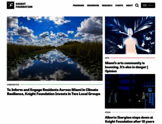 knightfoundation.org screenshot