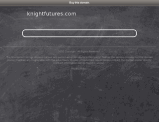 knightfutures.com screenshot