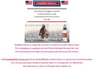 knightlite.com screenshot