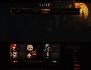 knightonlineworld.com screenshot