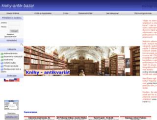 knihy-antik-bazar.cz screenshot