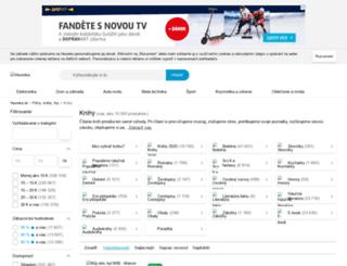 knihy.heureka.sk screenshot