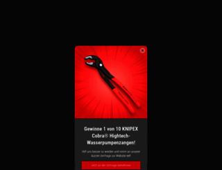 knipex.de screenshot