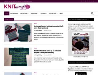 knitmuch.com screenshot
