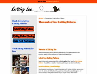 knitting-bee.com screenshot