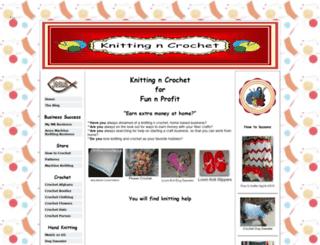 knitting-n-crochet.com screenshot