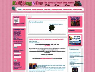 knitting4fun.co.uk screenshot