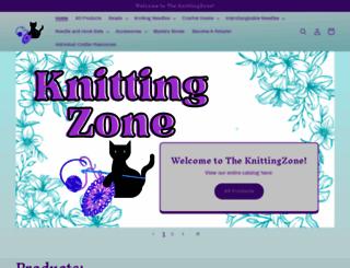 knittingzone.com screenshot