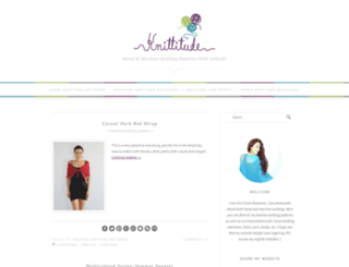 knittitude.com screenshot
