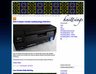 knittsings.com screenshot