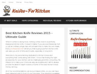 knivesforkitchen.com screenshot