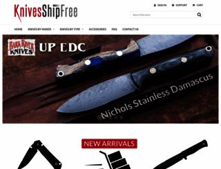 knivesshipfree.com screenshot