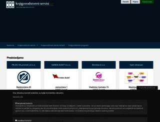 knjigovodstveni-servisi.net screenshot