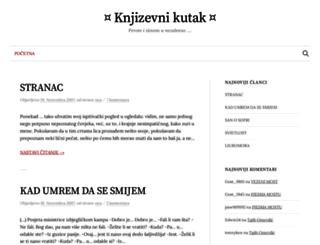 knjizevnikutak.blogger.ba screenshot