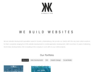 knkconsulting.co.za screenshot