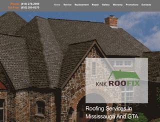 knkroofix.ca screenshot