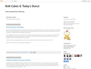 knmcakes.blogspot.com screenshot
