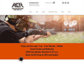 knobcreekrange.com screenshot