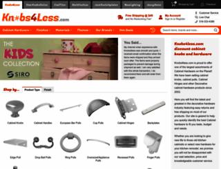 knobs4less.com screenshot
