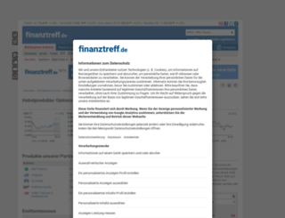 knock-outs.finanztreff.de screenshot