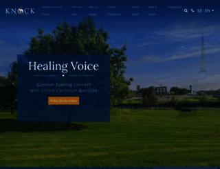knock-shrine.ie screenshot