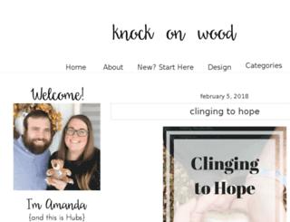 knockonwoodblog.com screenshot