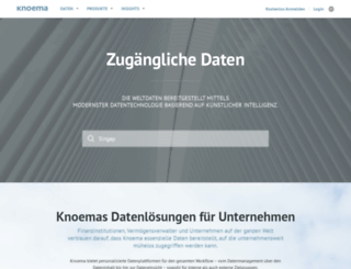 knoema.de screenshot