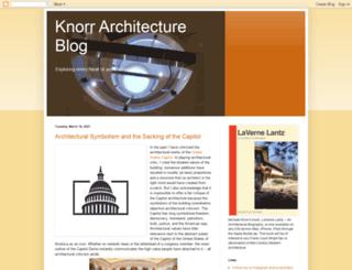 knorrarchitecture.blogspot.com screenshot