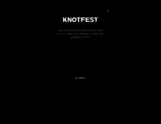 knotfest.com screenshot