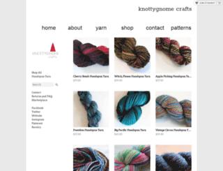 knottygnome.storenvy.com screenshot