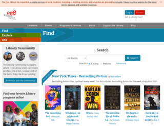 know.freelibrary.org screenshot