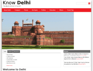 knowdelhi.com screenshot
