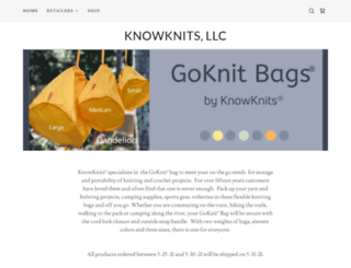 knowknits.com screenshot