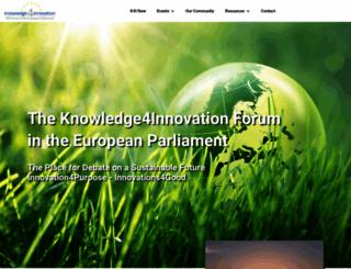 knowledge4innovation.eu screenshot