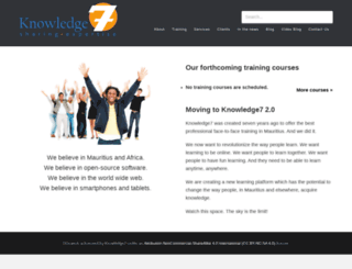 knowledge7.com screenshot