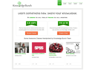 knowledgebunch.com screenshot
